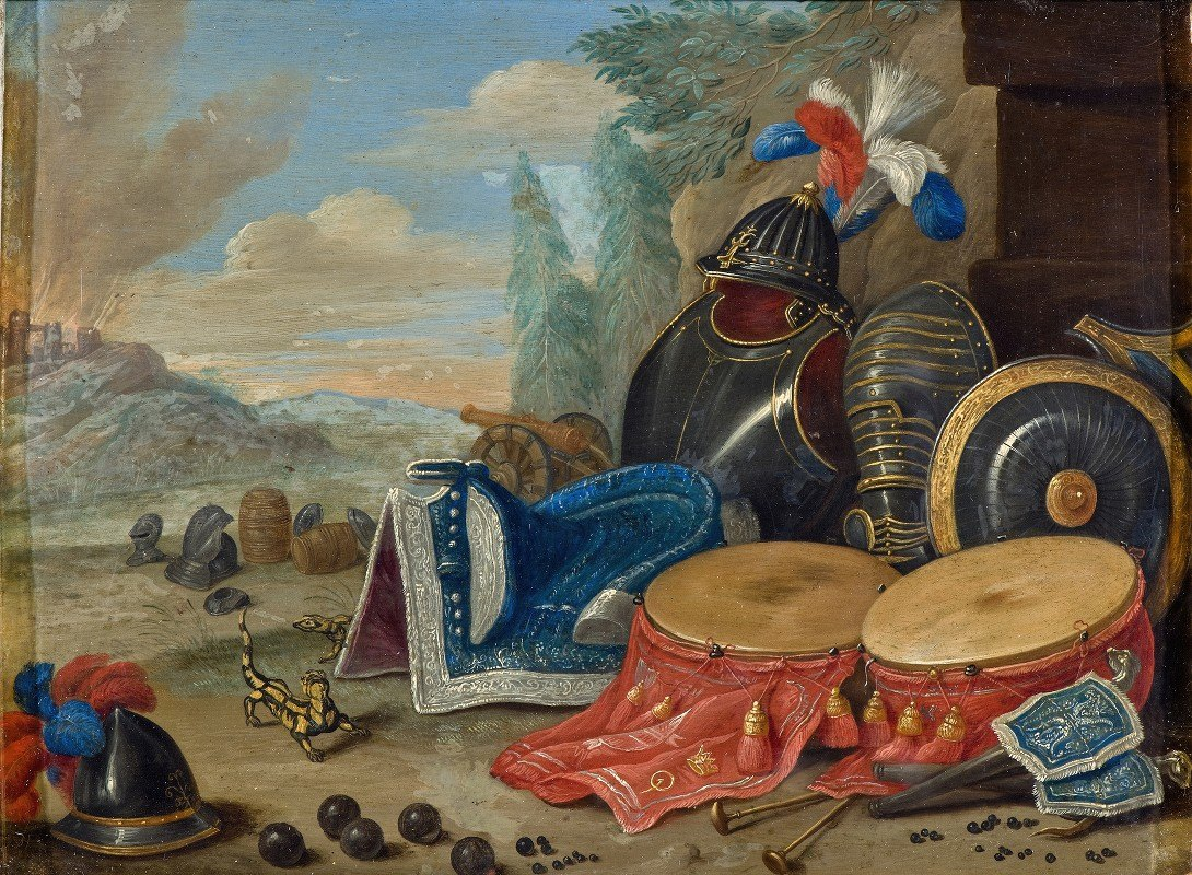 Jan Van Kessel The Elder - Emblems of War