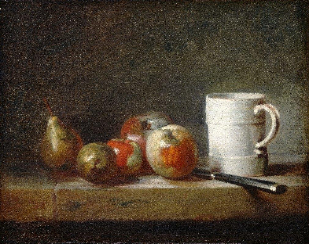 Jean-Baptiste-Siméon Chardin - Still Life with a White Mug