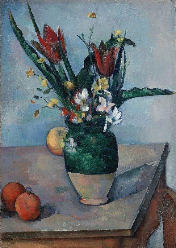 Paul Cézanne - The Vase of Tulips
