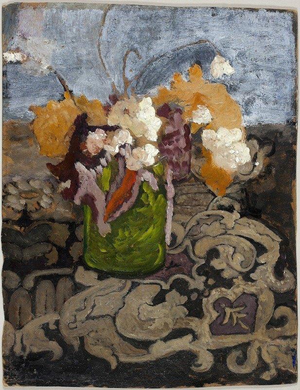 Paula Modersohn-Becker - Still Life with Green Vase
