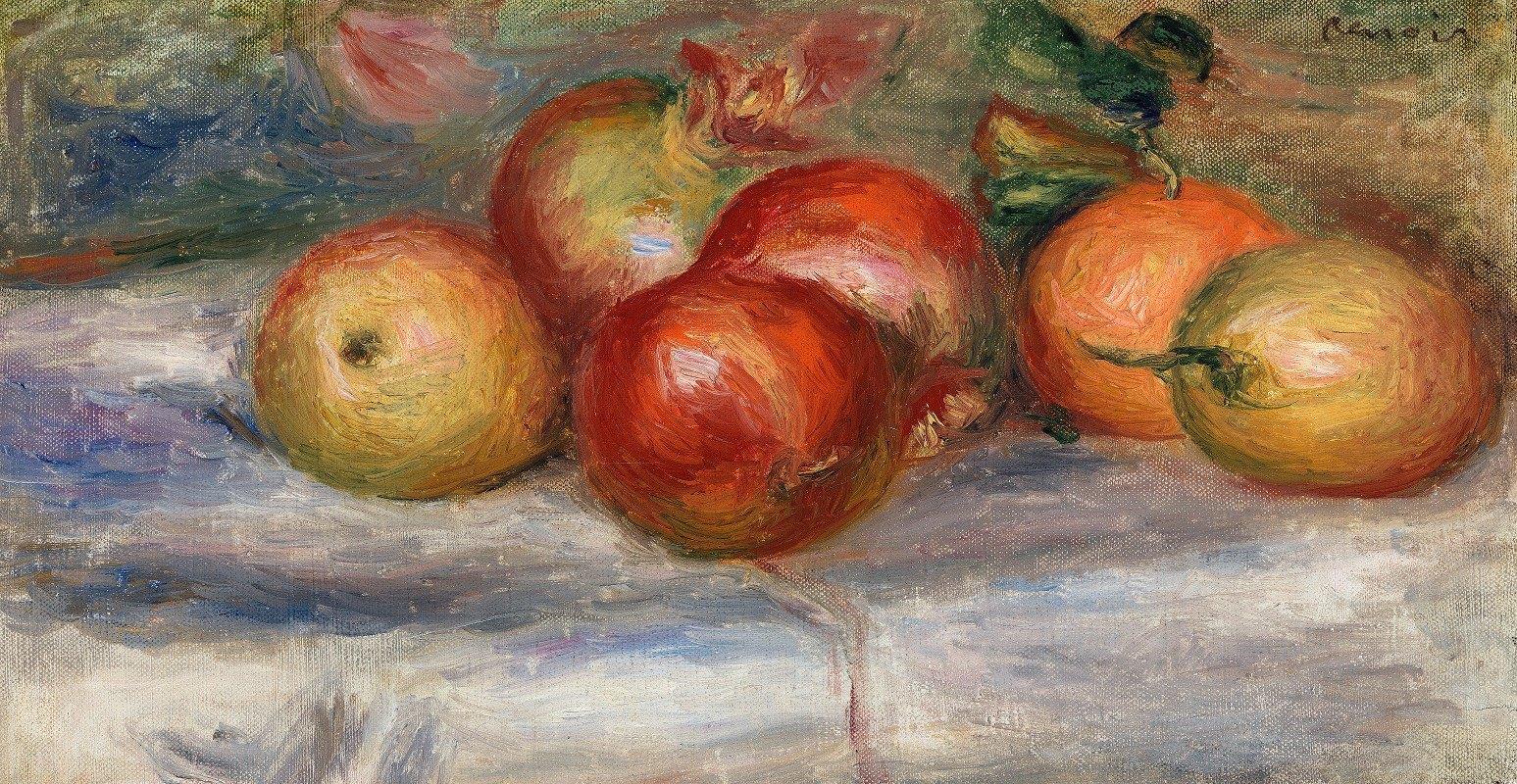 Pierre-Auguste Renoir - Apples, Orange, and Lemon (Pommes, oranges et citrons)