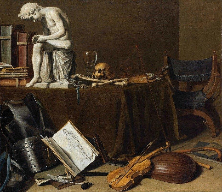 Pieter Claesz - Vanitas Still Life with the Spinario