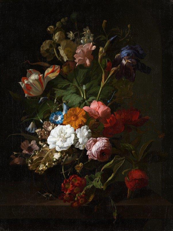 Rachel Ruysch - Vase with Flowers