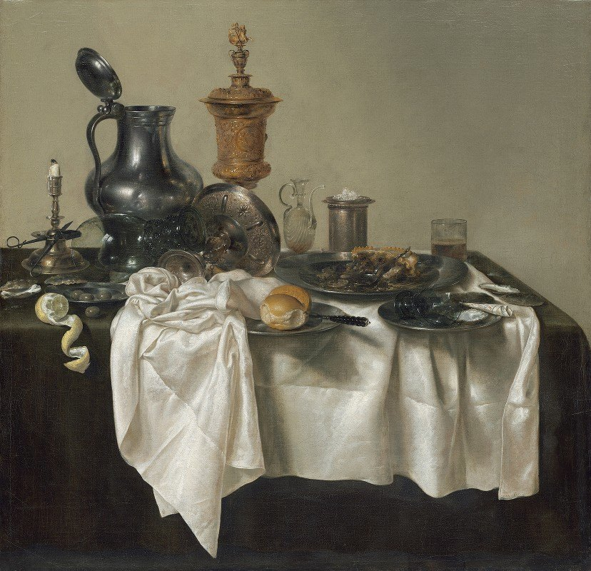 Willem Claesz Heda - Banquet Piece with Mince Pie