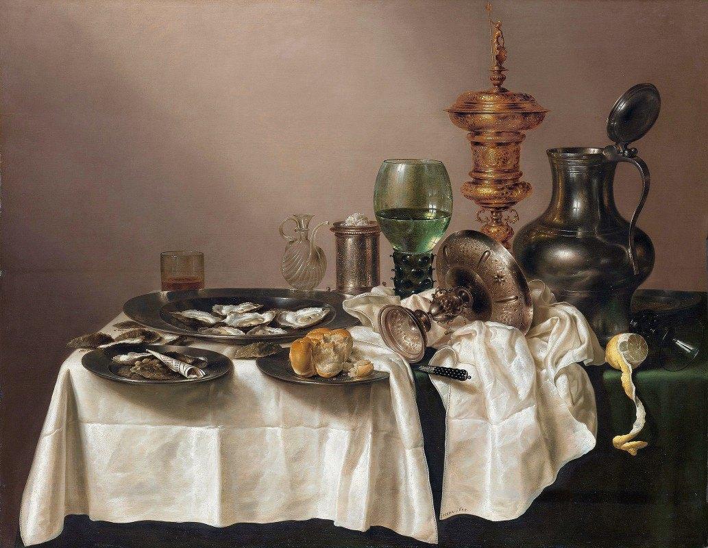 Willem Claesz Heda - Still Life with a Gilt Cup