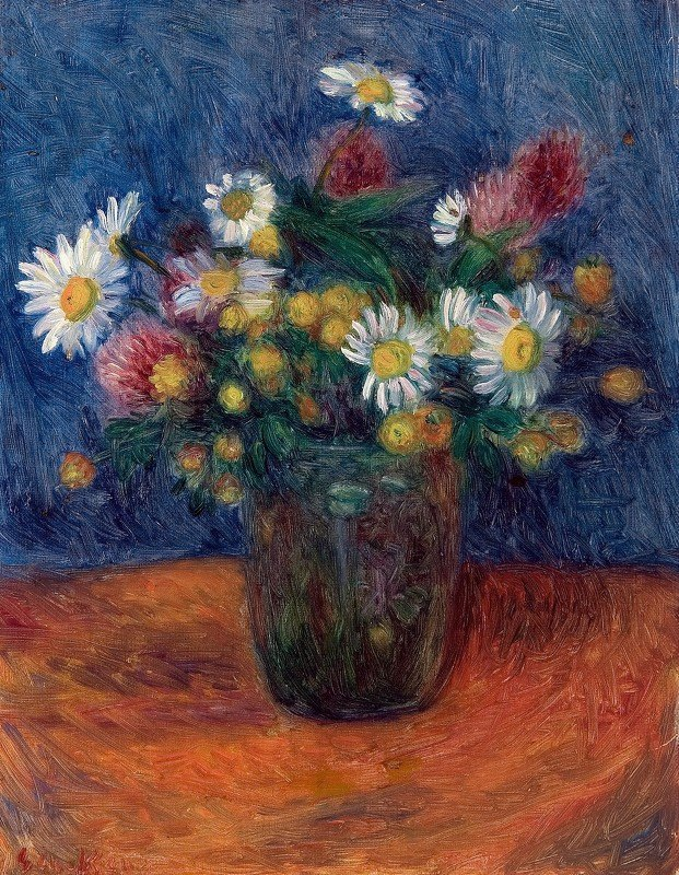 William James Glackens - Flowers