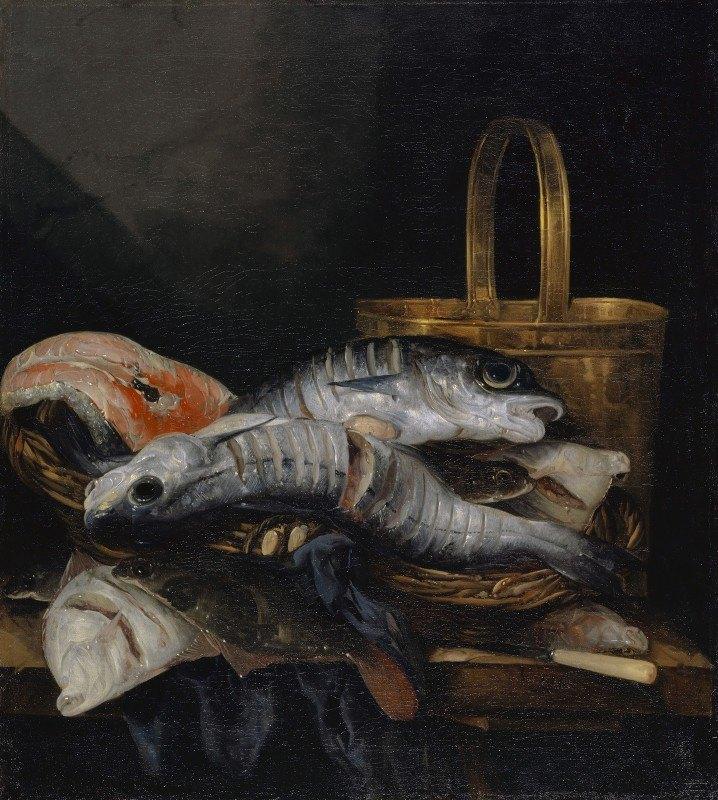 Abraham van Beyeren - Dead Fish