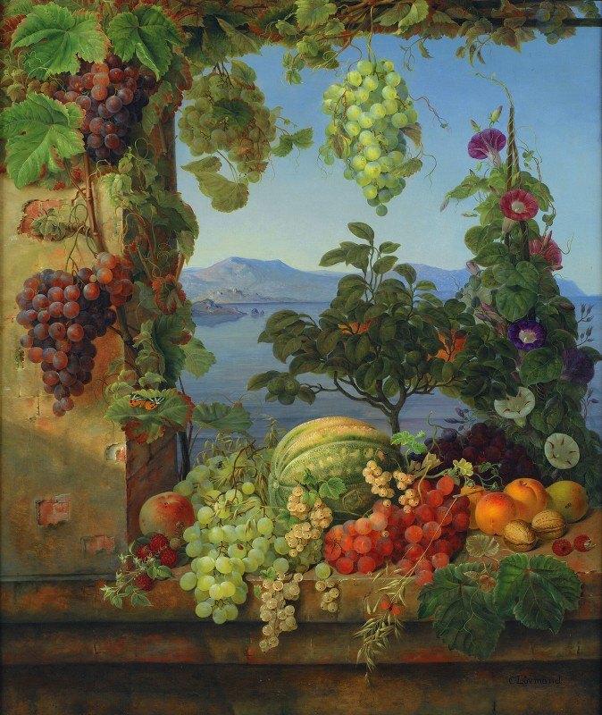 Christine Løvmand - Frugter I Et Italiensk Landskab