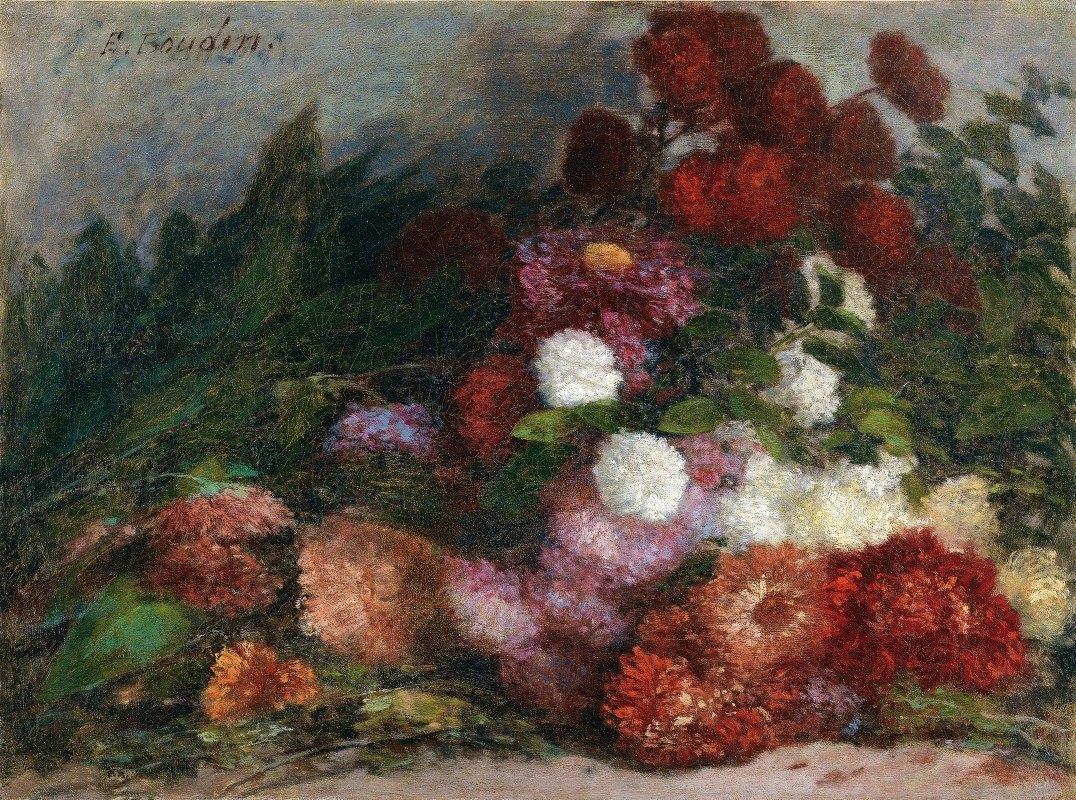 Eugène Boudin - Flower Bunch