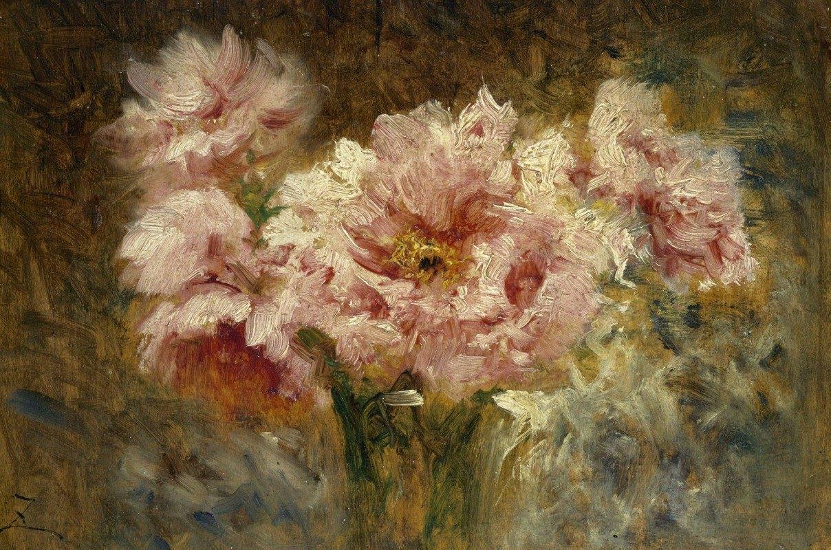 Félix Ziem - Fleurs