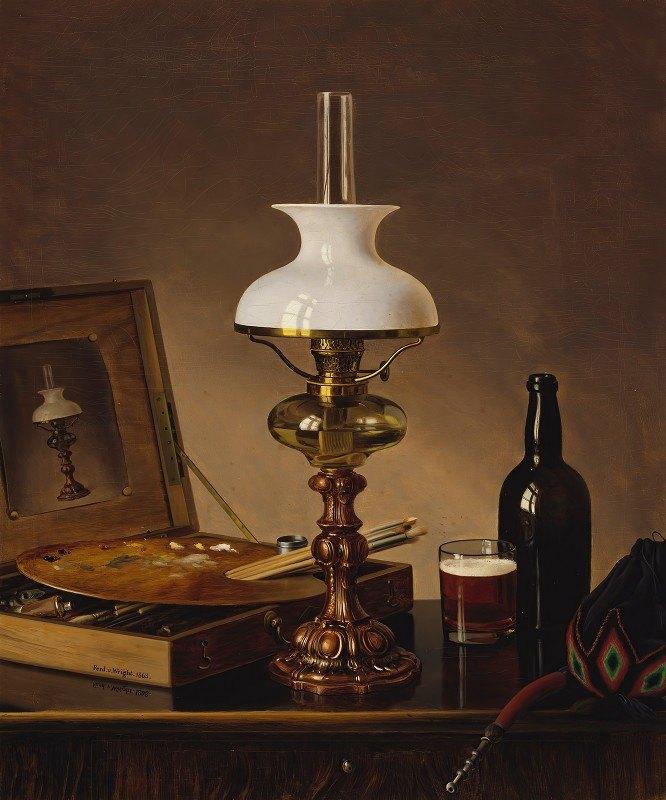 Ferdinand von Wright - Still Life In The Atelier
