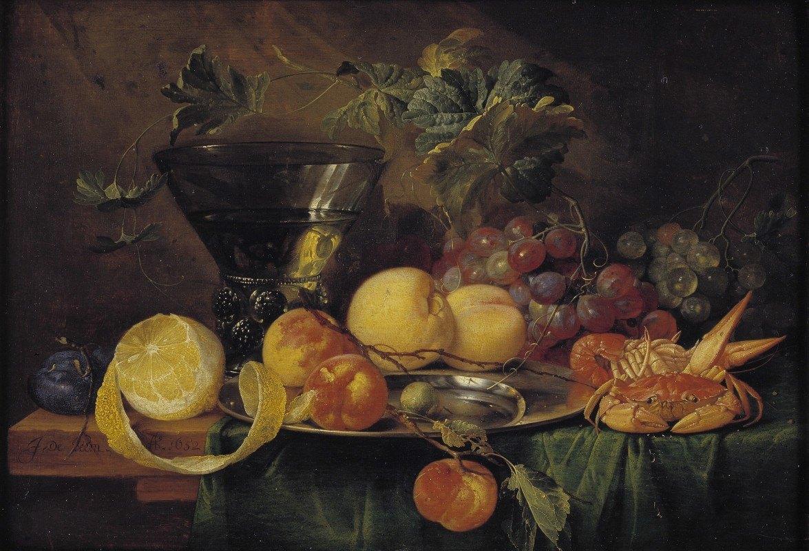 Jan Davidsz de Heem - Still Life With A Roemer