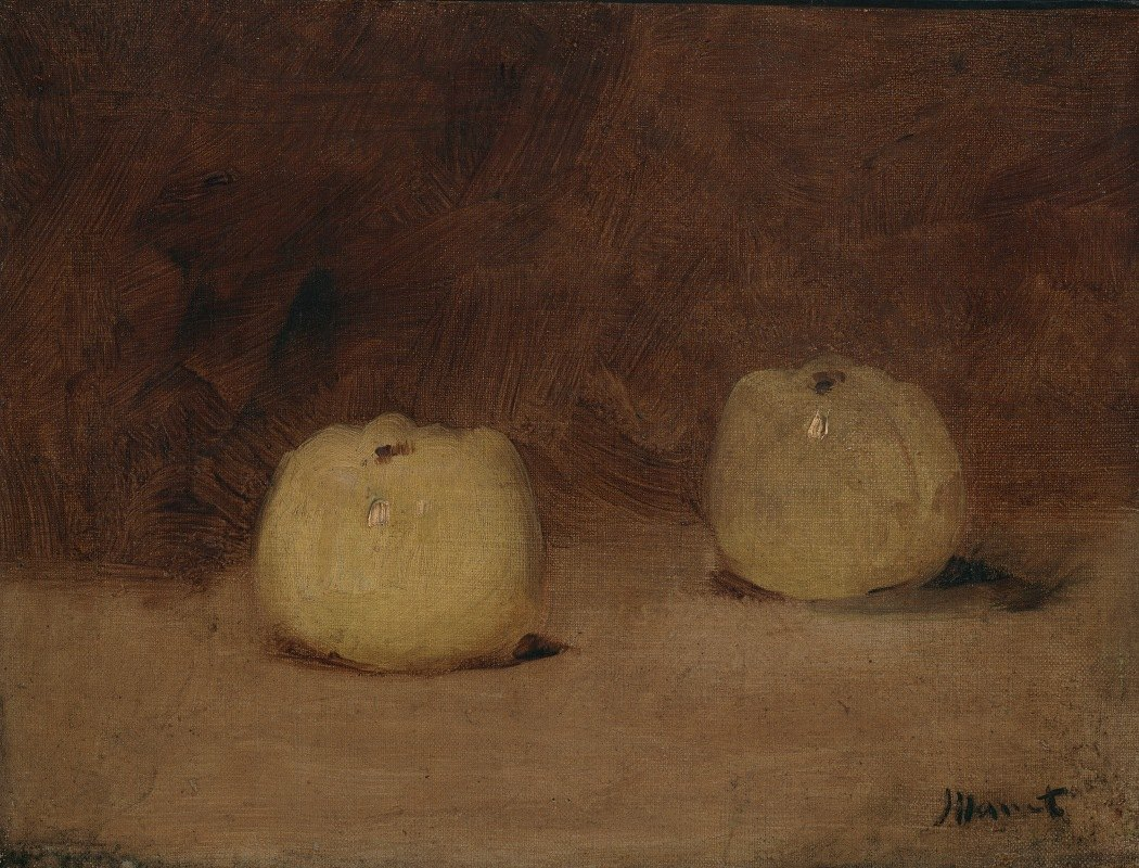 Édouard Manet - Still Life with TwoApples
