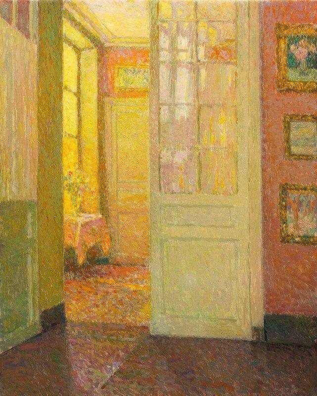 Henri Le Sidaner - Intérieur, Lumière De La Fenêtre