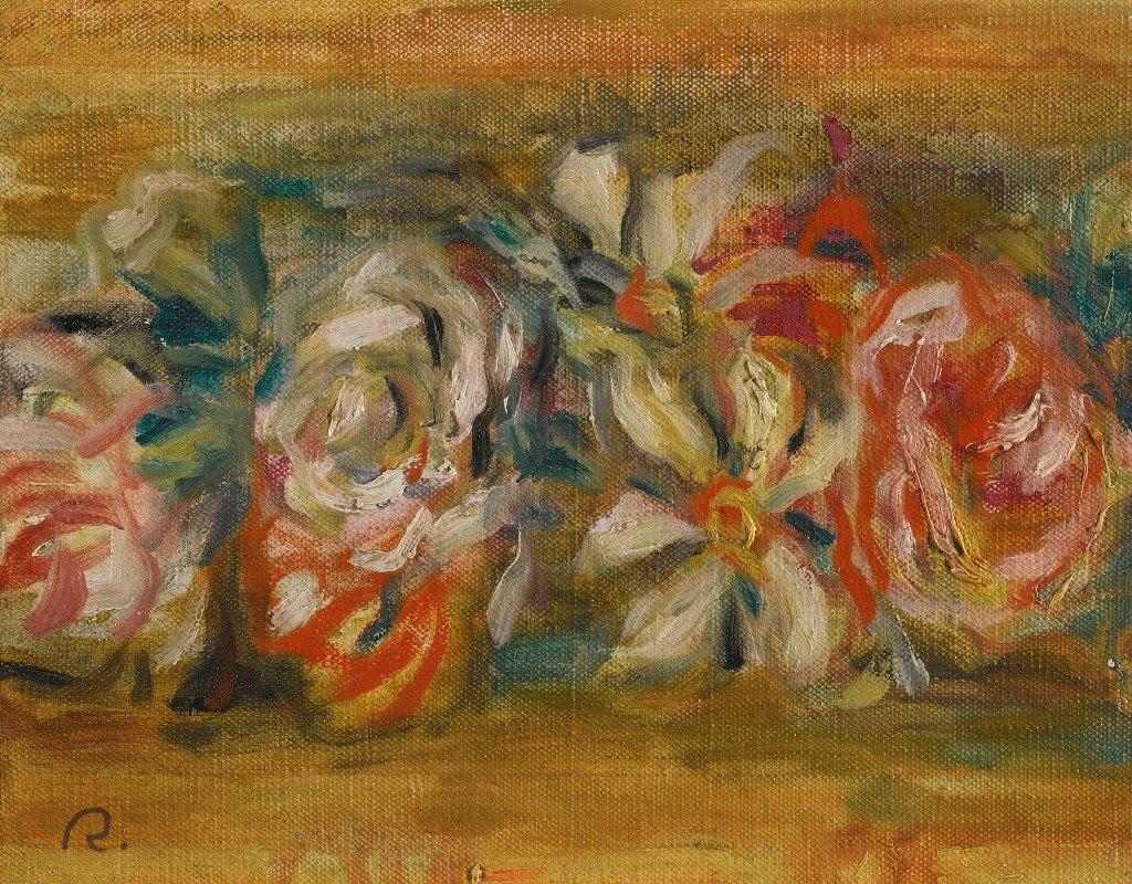 Pierre-Auguste Renoir - Jetée De Fleurs