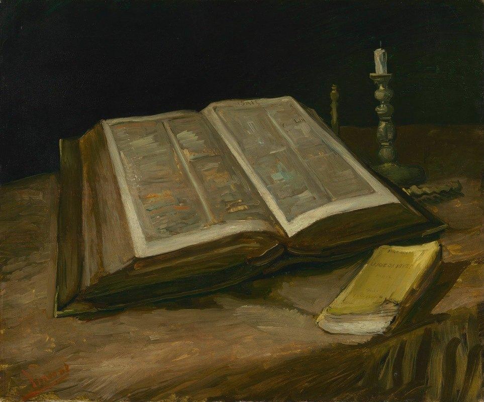 Vincent van Gogh - Still Life with Bible