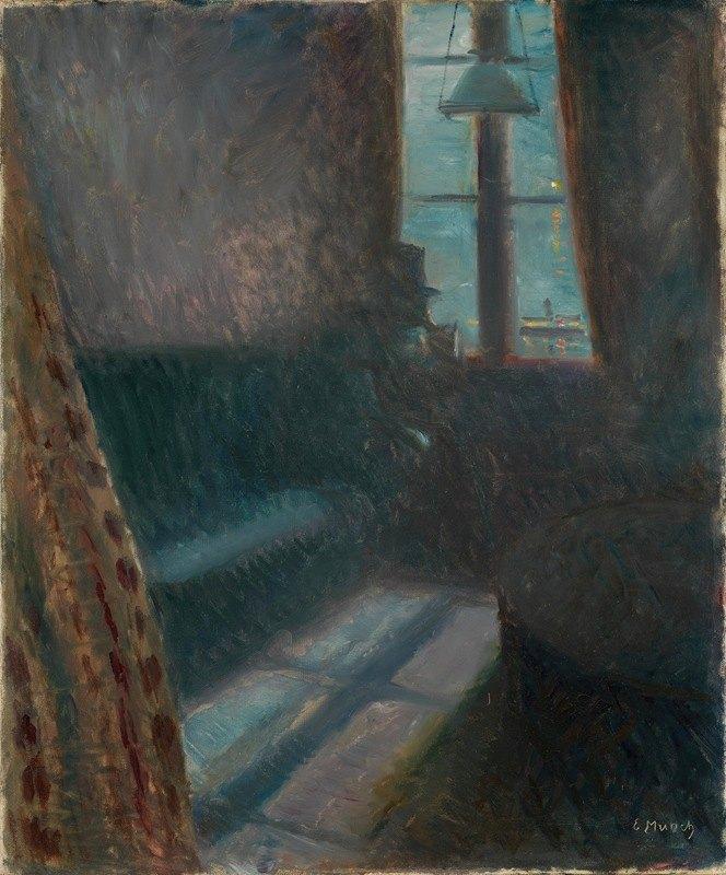Edvard Munch - Night in Saint-Cloud