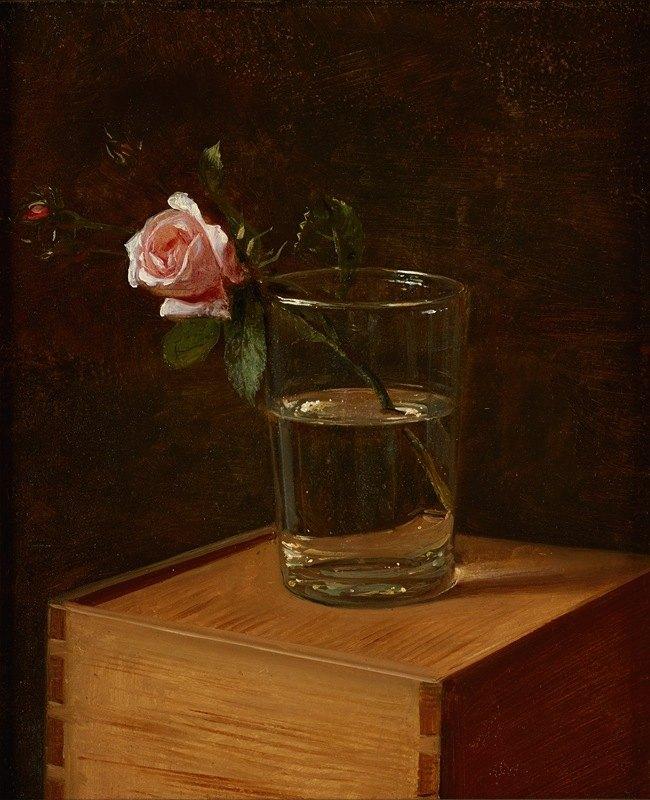 Franz Krüger - Rose im Glas