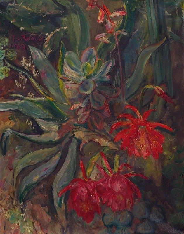 Friedrich von Radler - Blühende Kakteen