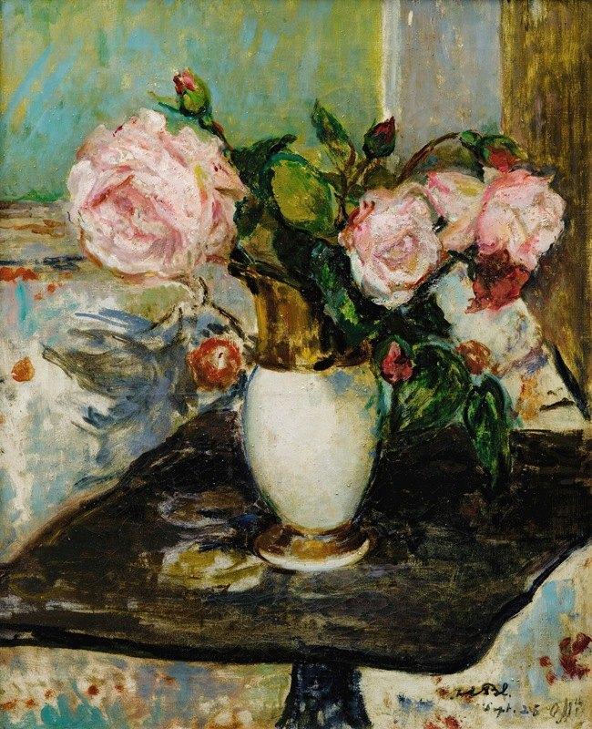 Jacques-Émile Blanche - Flowers in a vase