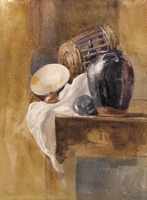 Peter De Wint - Still life