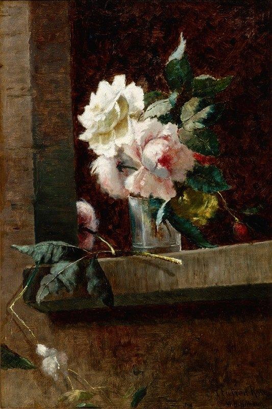 William Henry Hilliard - Italian Roses