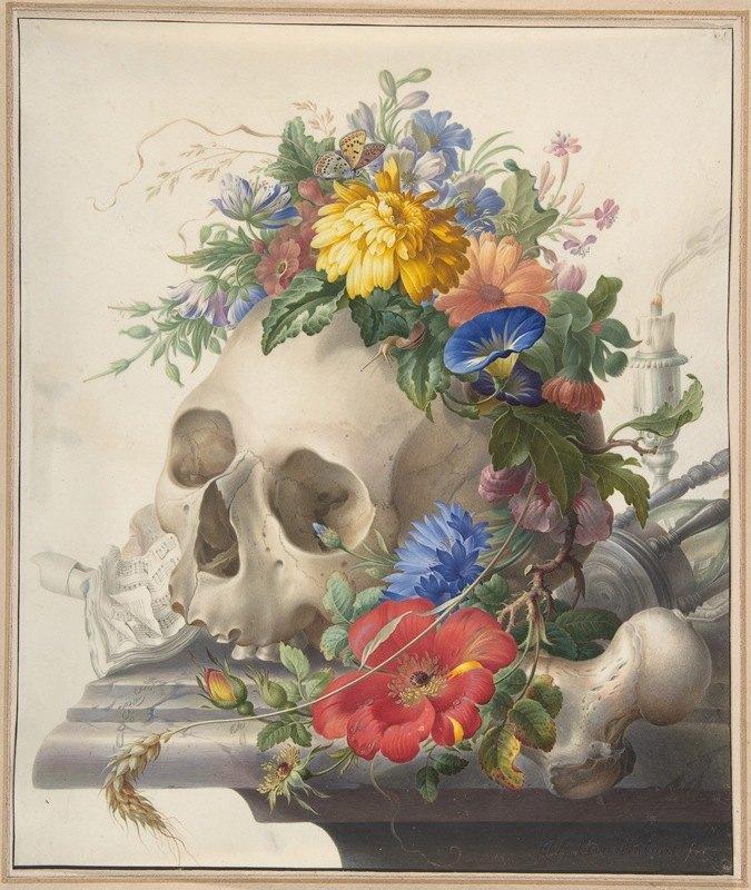 Herman Henstenburgh - Vanitas Still Life