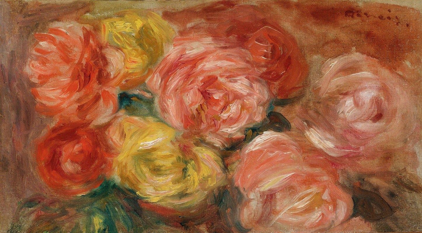Pierre-Auguste Renoir - Nature Morte Aux Roses
