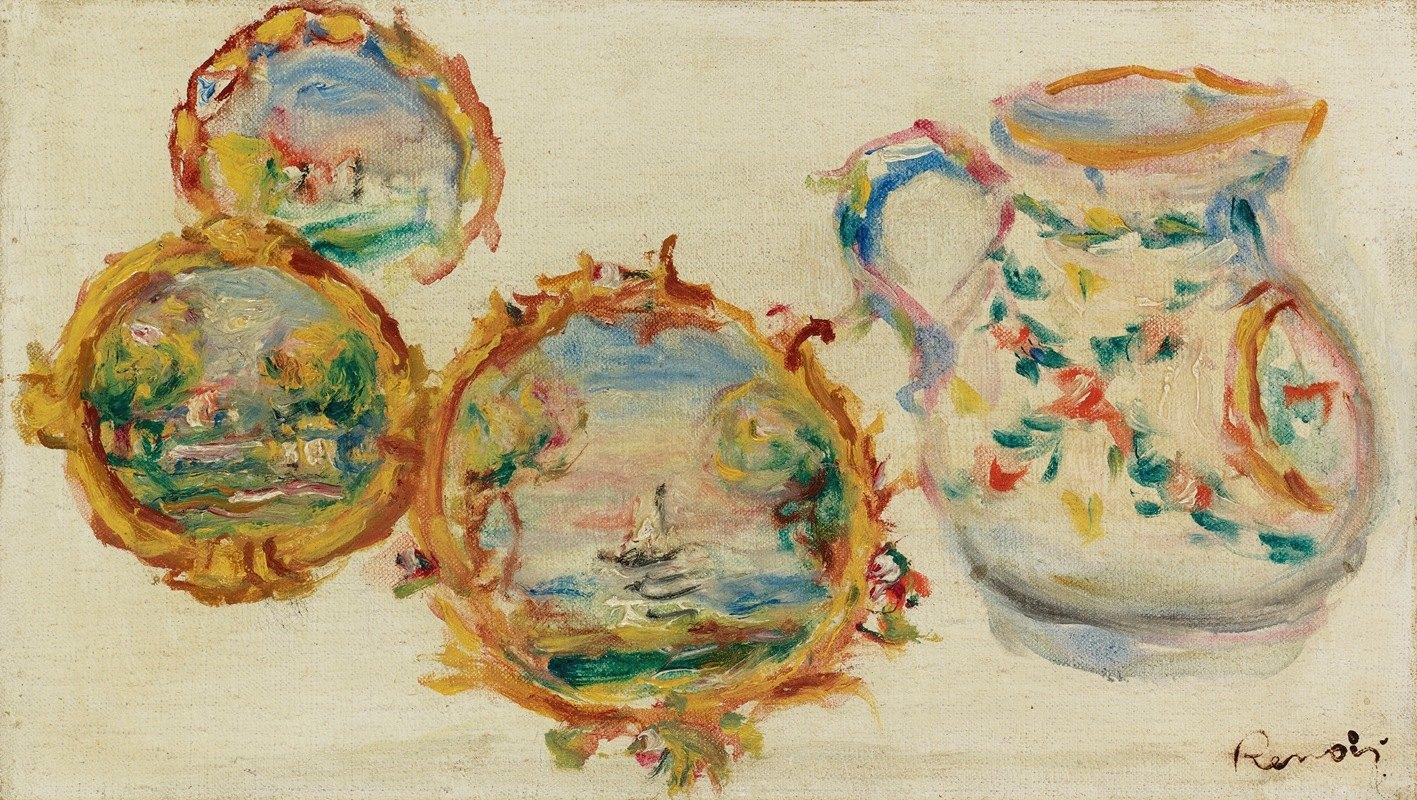 Pierre-Auguste Renoir - Faïences Décorées
