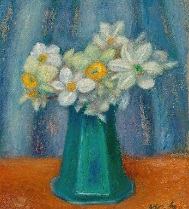 William James Glackens - Paper Narcissus