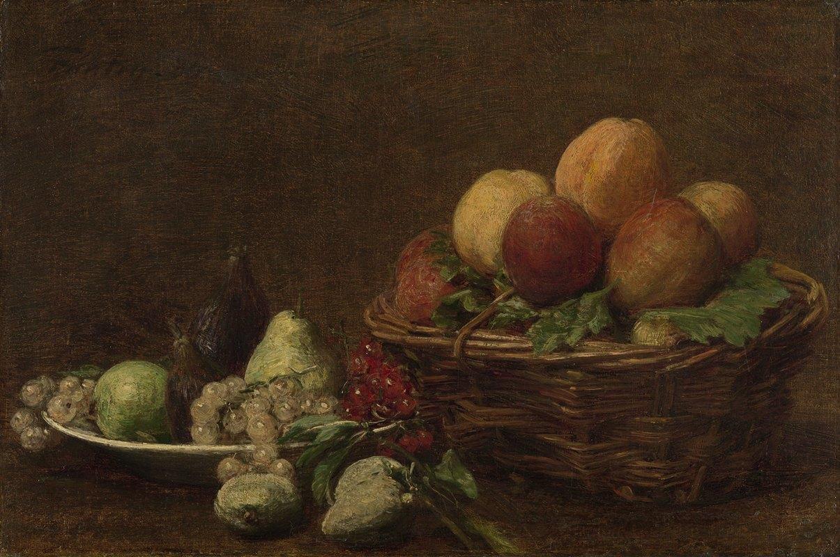 Henri Fantin-Latour - Still Life with Fruit