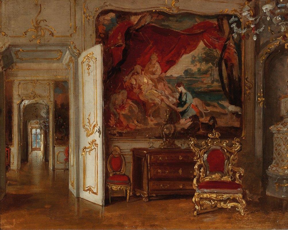 Hermann Kern - Interieur aus dem Schloss Esterhazy