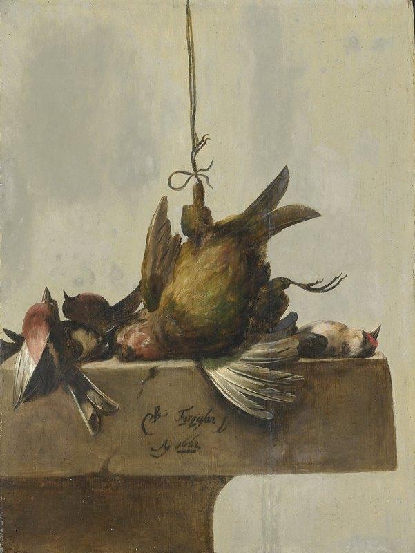 William Gowe Ferguson - Still Life with Birds