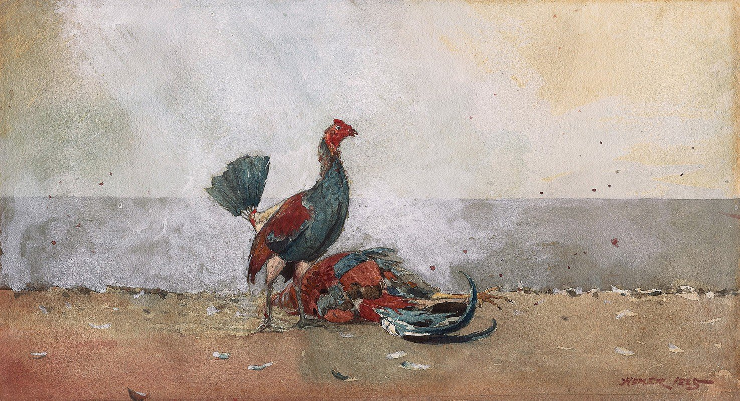 Winslow Homer - The Cock Fight
