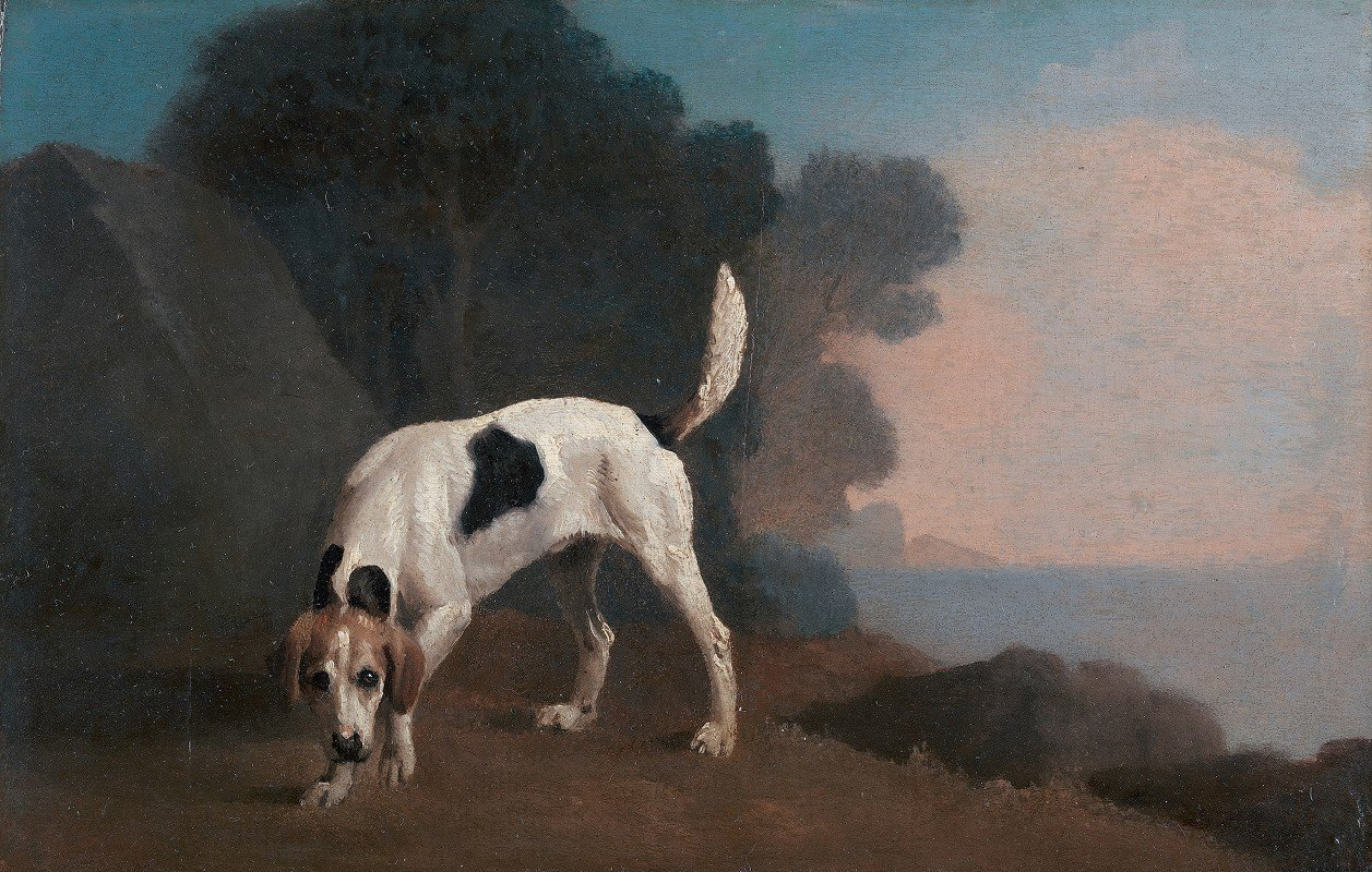 George Stubbs - Foxhound on the Scent