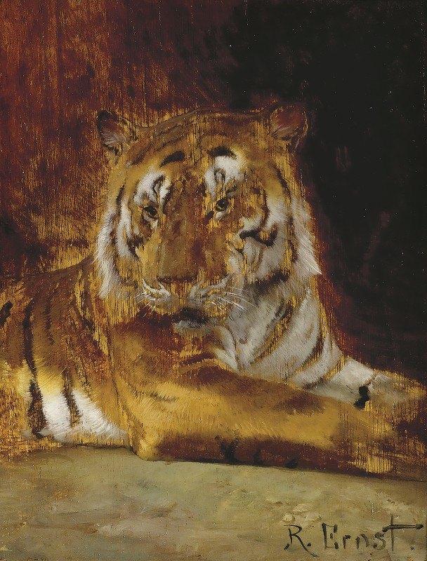 Rudolf Ernst - Tiger