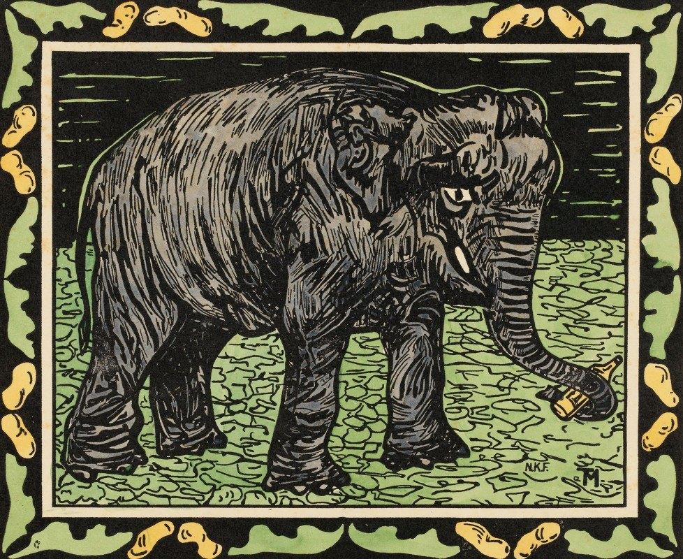 Theo van Hoytema - Elephant With Bottle
