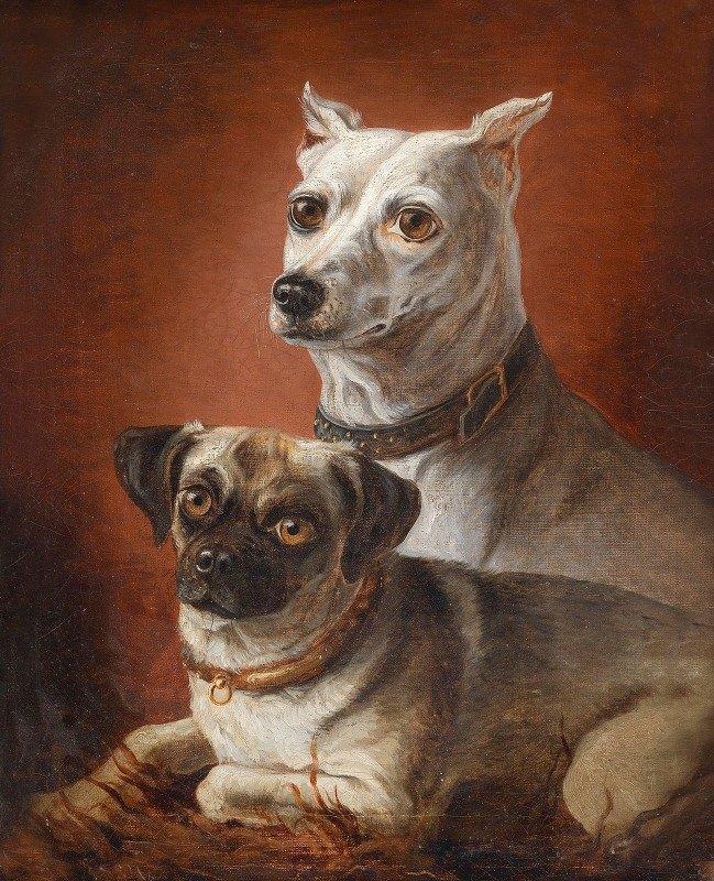 Julius Hamburger - Zwei Hunde 02