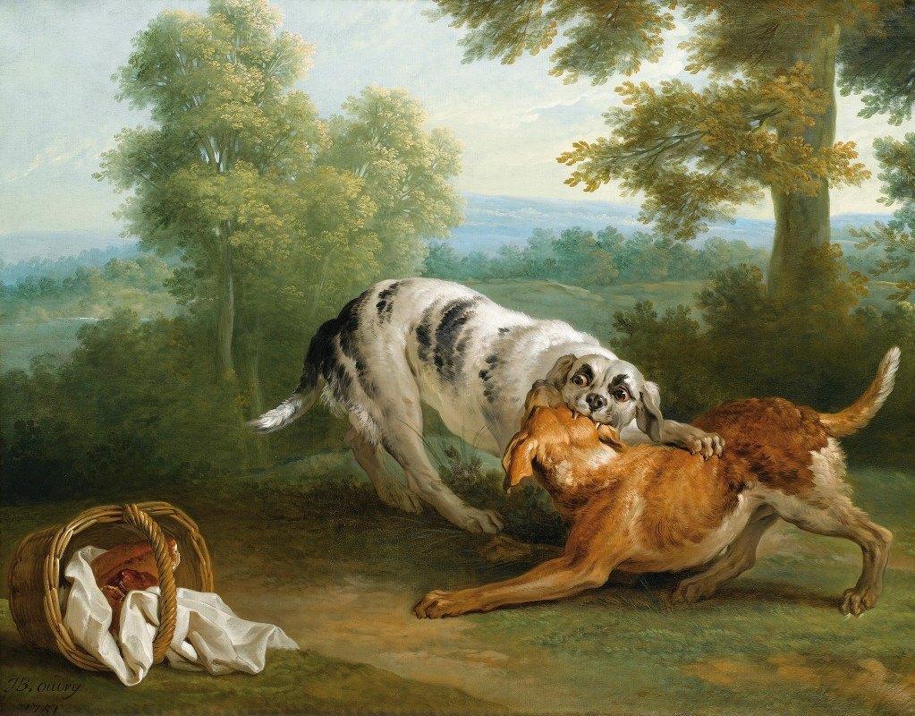 Jean-Baptiste Oudry - The Dog Carriynghis Dinner To His Master