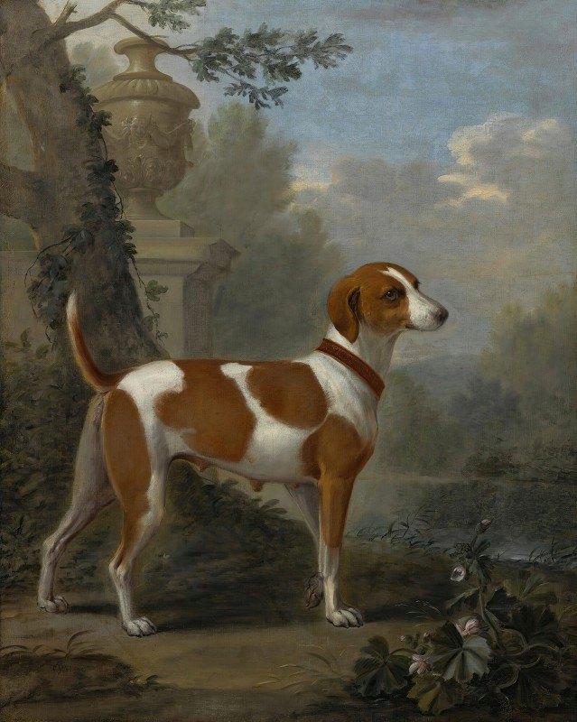 John Wootton - Portrait Of The Duke Of Hamilton's Hound 'jewell'