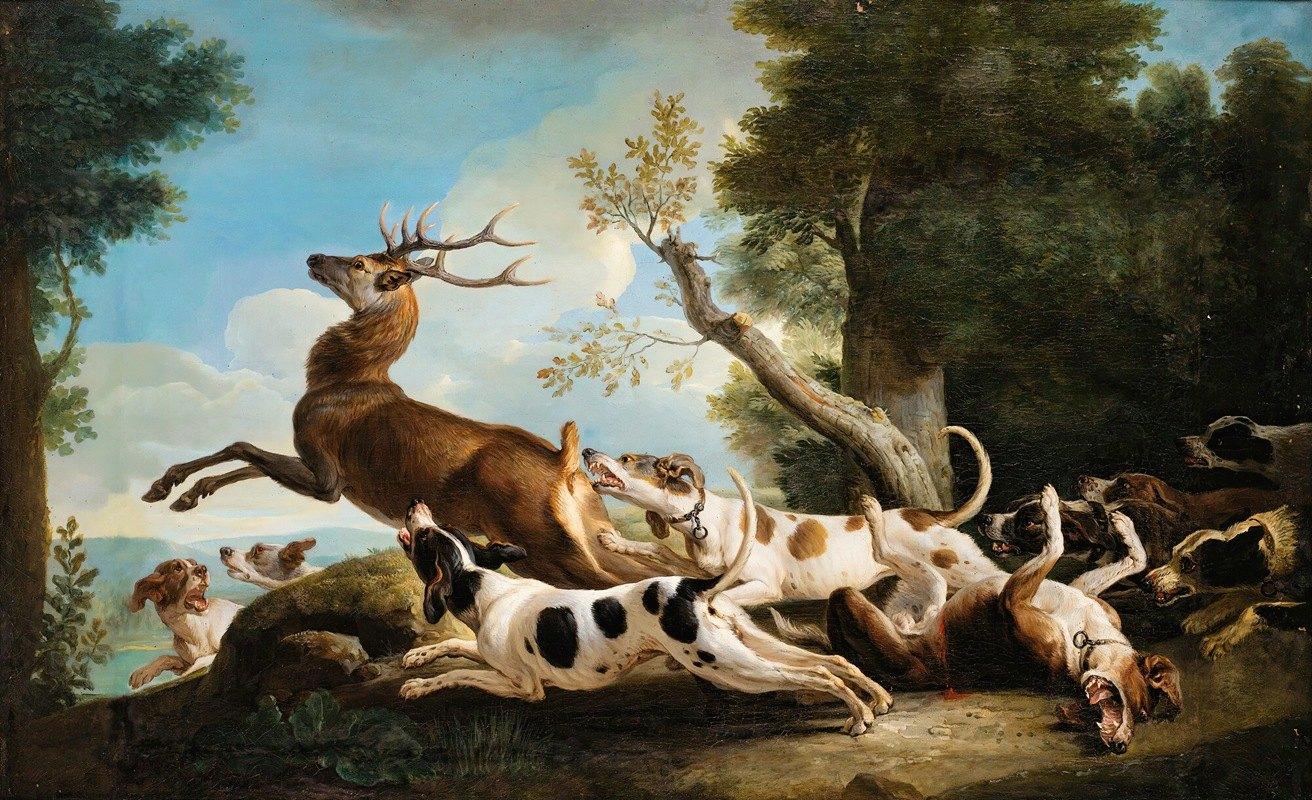 Alexandre François Desportes - The Stag Hunting