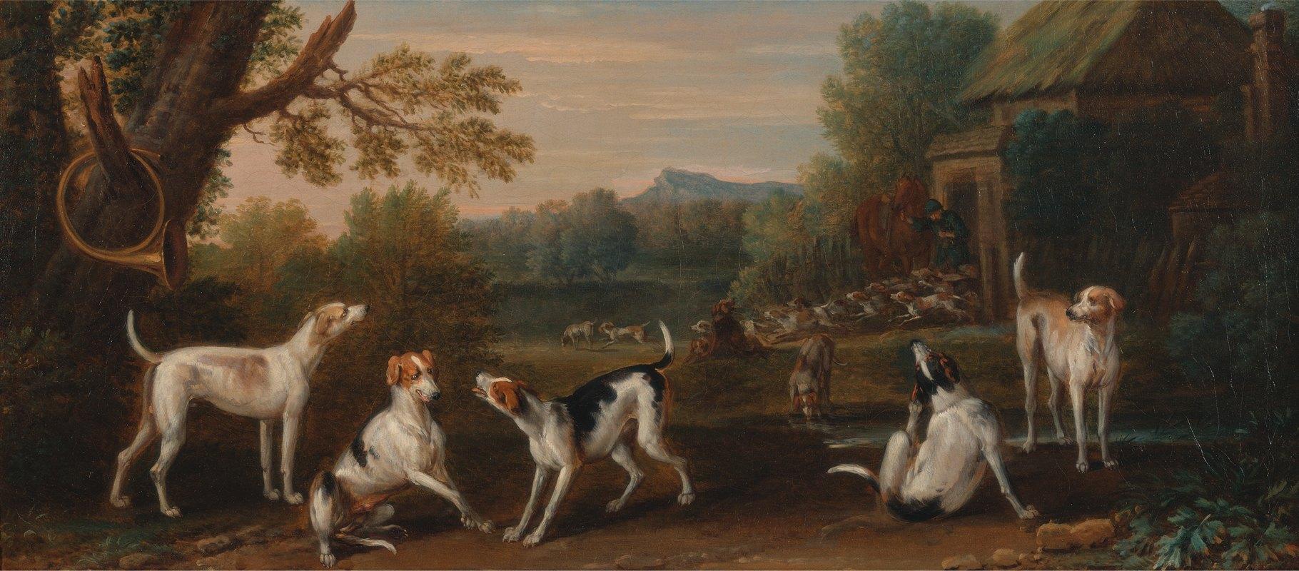 John Wootton - Releasing the Hounds