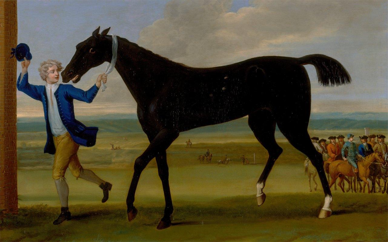 John Wootton - The Duke of Rutland's Bonny Black