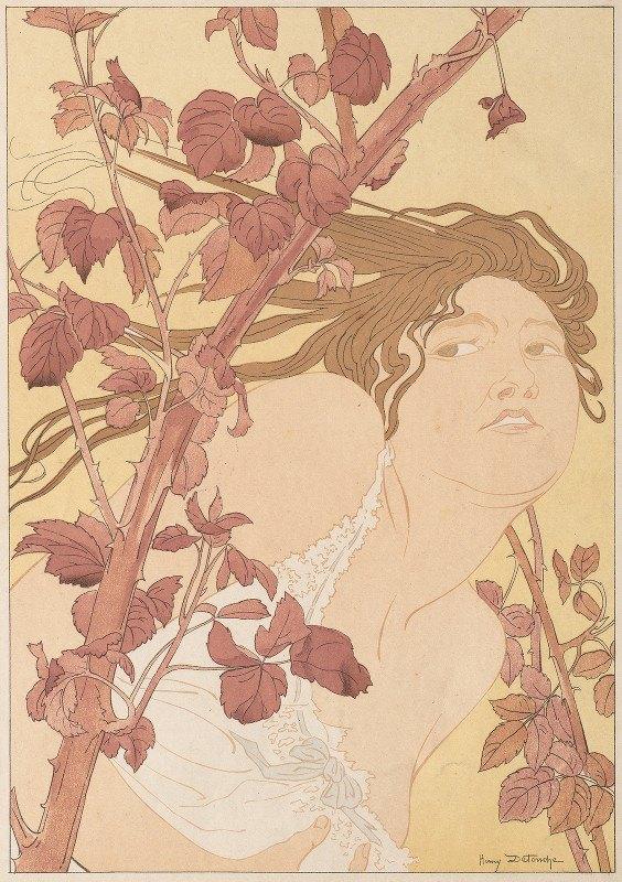 Henri Detouche - In the Brambles