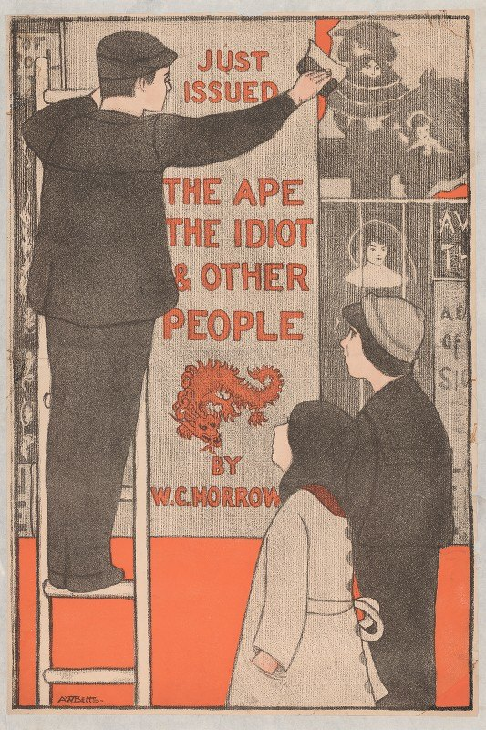 Anna Whelan Betts - The ape, the idiot and other people