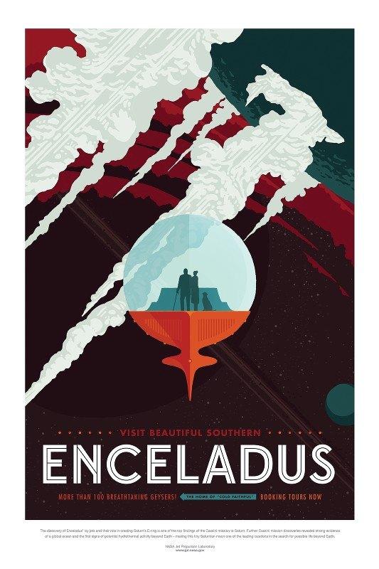 NASA - Enceladus