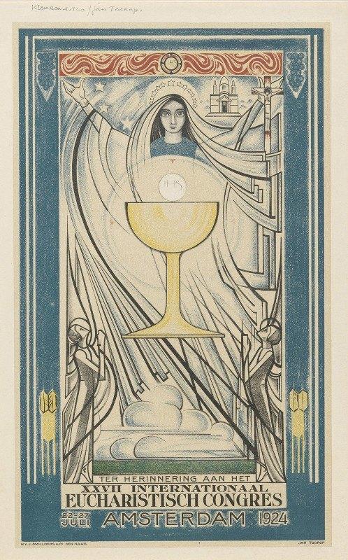 Jan Toorop - Poster for the International Eucharistic Congress