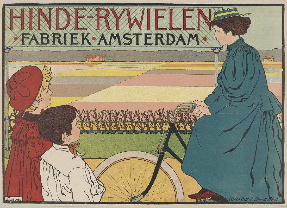 Johann Georg van Caspel - Hinde-Bicycles Factory Amsterdam