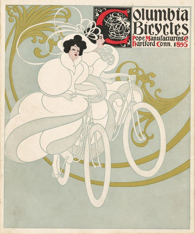 Will Bradley - Columbia bicycles