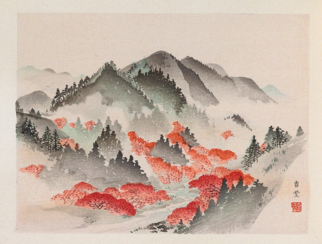 Anonymous - Heian meishō, Pl.09